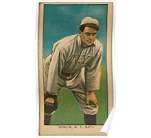 Benjamin K Edwards Collection Mike Donlin New York Giants baseball card portrait 001 Poster