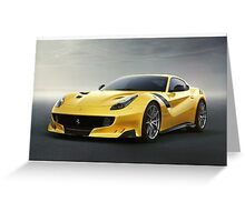 Ferrari F12 TDF Greeting Card
