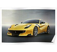 Ferrari F12 TDF Poster