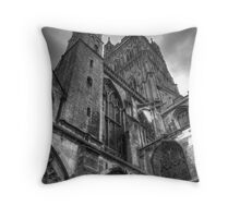 Gloucester Cathedral Throw Pillow