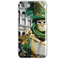 Traditional Venetian carnival costume iPhone Case/Skin