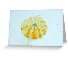 Squash Greeting Card