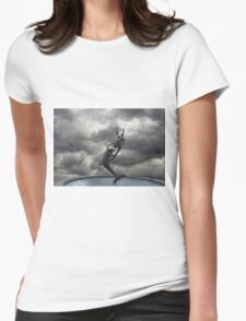 Water fountain in London Womens Fitted T-Shirt