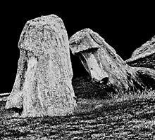 Rano Raraku Easter Island by freakjdg