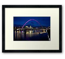 Gateshead Millennium Bridge, Newcastle Framed Print