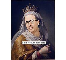 John Oliver - Saintly Celeb Photographic Print