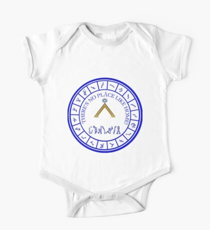 Stargate: Blue Dialing Ring One Piece - Short Sleeve