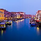 The Grand Canal Wakes by philnormanphoto
