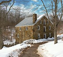 Mill - Cooper grist mill by Mike  Savad