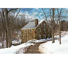 Mill - Cooper grist mill Photographic Print