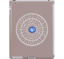 Stargate: Dialing Ring - Dark Backgrounds iPad Case/Skin