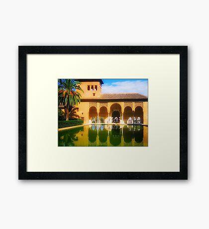The Magic of Alhambra Framed Print