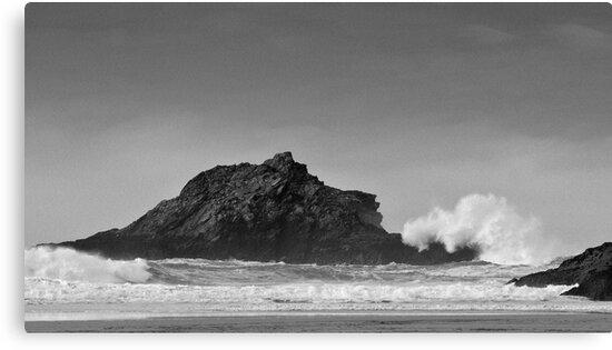 Crantock Beach by John Burtoft