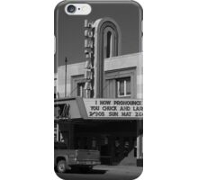 Miles City, Montana - Theater iPhone Case/Skin