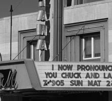 Miles City, Montana - Theater Sticker