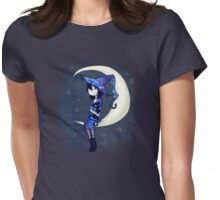Little Witch Womens Fitted T-Shirt