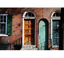 Doors- Camac St.Phila PA Photographic Print