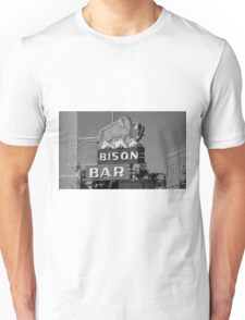Miles City, Montana - Bison Bar Unisex T-Shirt