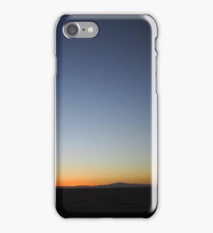 blue orange black iPhone Case/Skin
