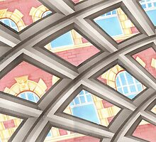 Perspectives in windows by Lyndsey Hale