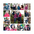 Family Photography Collage by Claire Tennant