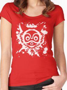 Mononoke Splash Women's Fitted Scoop T-Shirt