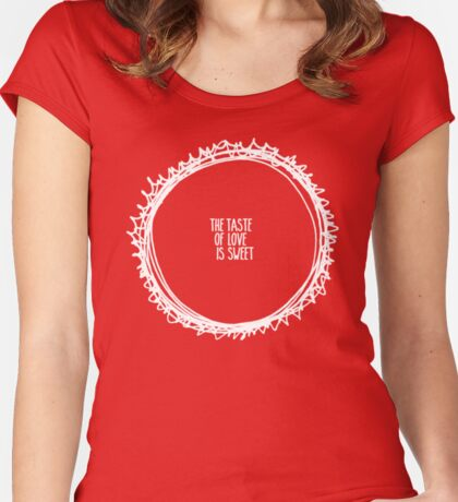ring of fire Women's Fitted Scoop T-Shirt