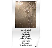 Poem: Let Poster