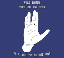 High Five Spock 2.0 by HighDesign