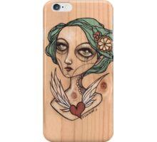 My Heart will Fly Away. Lemon Girl iPhone Case/Skin