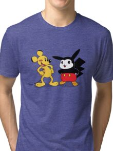 Mickachu Tri-blend T-Shirt