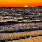 Connecticut Sunset - Orange Crush by Cindy Longhini