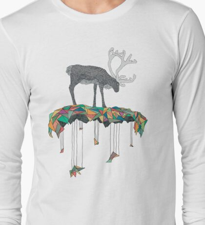 Reindeer colors Long Sleeve T-Shirt