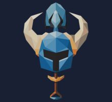 Low-Poly Shovel Knight by calfrills