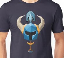 Low-Poly Shovel Knight Unisex T-Shirt