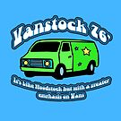 Van Stock 76&#x27; in Blue with Black by HighDesign