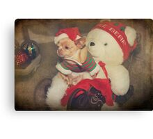 Christmas Zoe Canvas Print