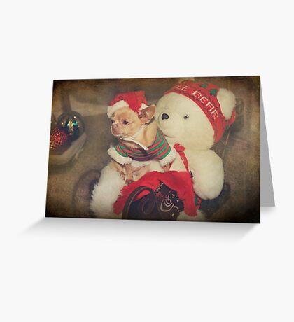 Christmas Zoe Greeting Card
