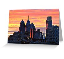 Remarkable Sunset Greeting Card