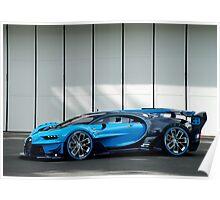 Bugatti Vision Gran Turismo Poster