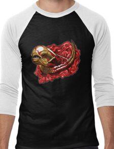 Chestburster B Men's Baseball ¾ T-Shirt