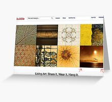 REDBUBBLE HOME PAGE Greeting Card