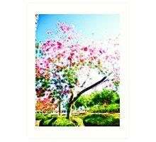 Orchis tree/fractalius Art Print