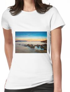 Rocks in a row at Anadolufeneri Bay Womens Fitted T-Shirt