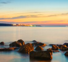 Rocks in a row at Anadolufeneri Bay Sticker