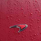 Red on Red Mclaren Badge by redlineviper