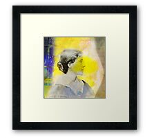 The Yellow Wallpaper Framed Print