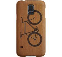 Bike ~ Wood Silhouette Samsung Galaxy Case/Skin