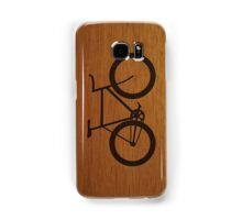 Bike ~ Wood Silhouette Samsung Galaxy Case/Skin