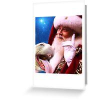 Rudolph, Santa's Red Nosed Pitbull Greeting Card